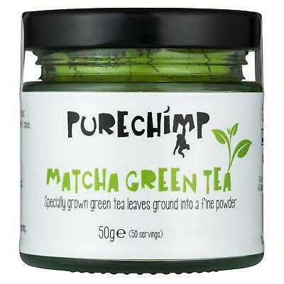 Matcha Green Tea Powder (Super Tea) 50g by PureChimp | Ceremonial Grade from Ja