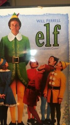 Elf (DVD, 2005). Product Has Alot Of Scratches On It