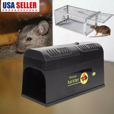 Mouse Trap Electronic mice Mouse Killer Rat Pest Control Electric Zapper Rodent