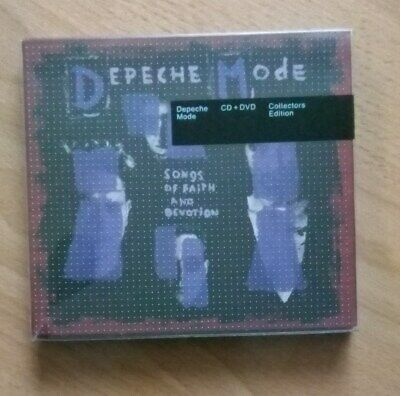 Depeche  Mode   Songs Of Faith And Devotion Cd + Dvd   Collectors Edition