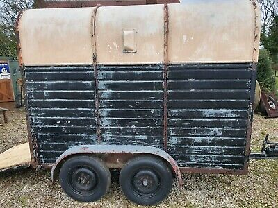 Vintage Rice Horse Trailer Bar Catering Conversion