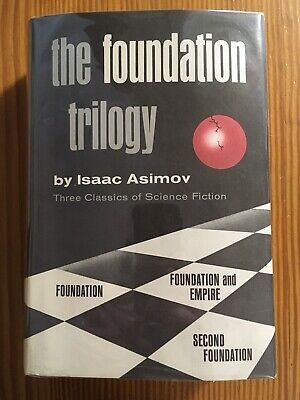 The Foundation Trilogy - Isaac Asimov - First Book Club Edition - High Grade