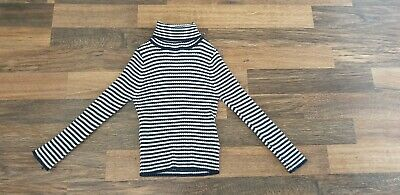 Next Girls Striped Polo Neck Age 3 Years