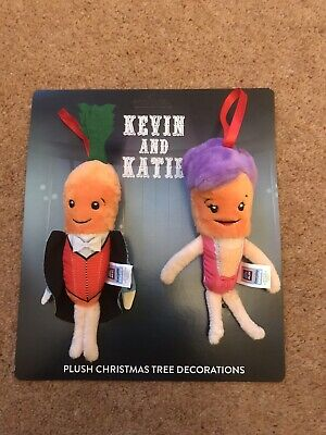 """Aldi Kevin And Katie Carrot  12"""" Soft Plush  Toys 2019 Official Brand new"""