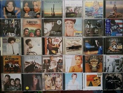 JOB LOT x41 New & Traditional Country Americana CD Collection