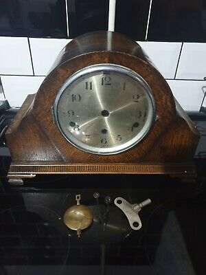Antique Whittington, Westminster Chimes Mantle Clock. For Restoration or parts