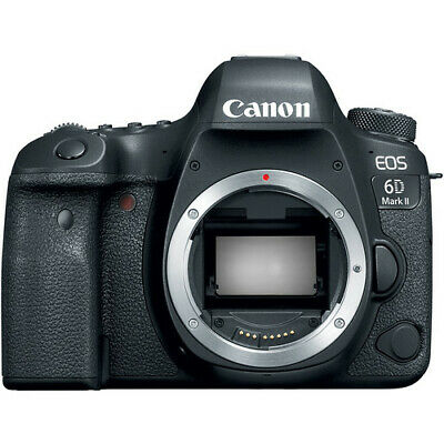 Canon EOS 6D Mark II 26.2 MP Digital Camera - Black (Body Only)