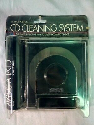 Nagaoka Cd Cleaning System Kit Cd1100 Cd Cleaner