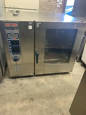 Rational Cpc G Used Combi Oven Gas Commercial Oven