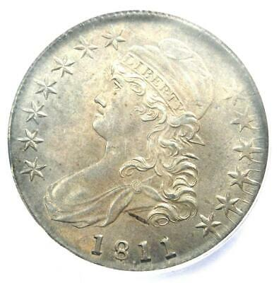 1811/10 Capped Bust Half Dollar 50C Overdate. ICG MS63 (BU UNC) - $11,200 Value!