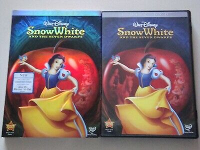 Snow White and the Seven Dwarfs DVD w/ Slipcover Walt Disney Animation Classic