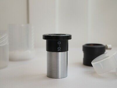 "Carl Zeiss Jena 10-O, 10mm Abbe orthoscopic eyepiece 0.965"" barrel"