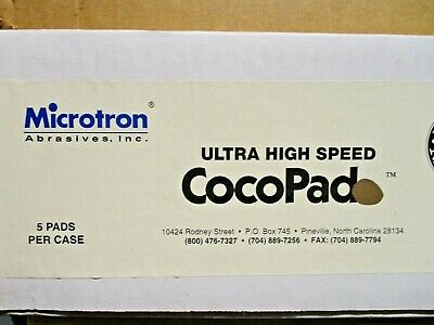 "Microtron Ultra High Speed Cocopad  20"" Floor Buffer Pad  Box of 5"