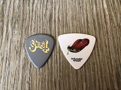 #4 2 GHOST guitar pick Lot Nameless Ghoul Little Ghoul
