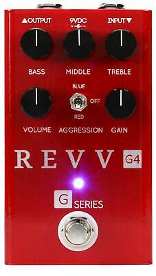 Revv G4 Distortion pedal In Stock Now Brand New in Box Free 2-3 Shipping U.S.