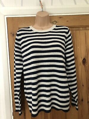 Marks&spencer Women's Ladies Top Pullover Jumper Wool Size Uk 14