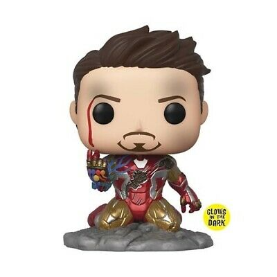 I Am Iron Man Glow In The Dark Deluxe Pop Previews Exclusive !Ships In April!!!!