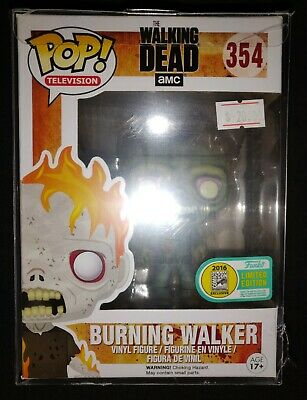SDCC 2016 Exclusive Funko Pop The Walking Dead Burning Walker Limited Edition **