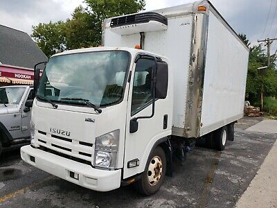2011 Isuzu NPR Diesel 16' Refrigerated Box Truck