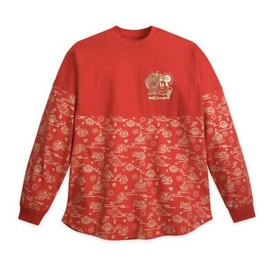 Disney World Chinese Lunar New Year Of The Mouse 2020 Spirit Jersey M L IN HAND