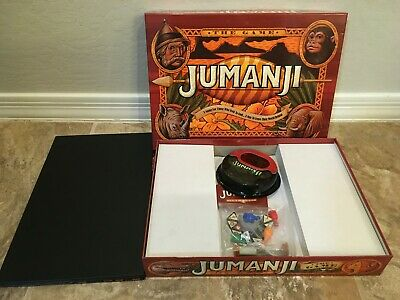 JUMANJI The Game Board Game Cardinal  complete
