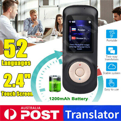 Smart Wireless Portable Translator Instant Real Time Voice 50+ Languages
