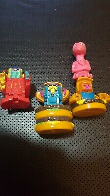3 x MCDONALDS CHANGEABLES 1991 HAPPY MEAL TOYS TRANSFORMERS 90s VINTAGE