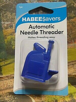 1 Habeesavers Needle Threader Assistance Hand Sewing Easy Automatic Threading