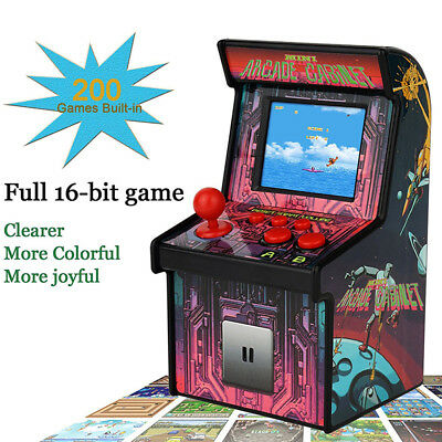 LD_ KD_ 200-in-1 16-Bit Classic Handheld Mini Arcade Game Console Gaming Machi