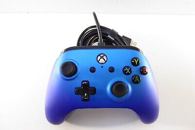 PowerA 1506684-02 Enhanced Wired Controller for Xbox One - Sapphire Fade 1036261