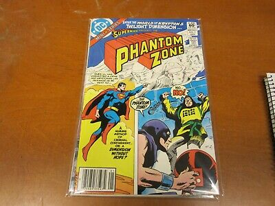 DC Comics The Phantom Zone complete mini series by Steve Gerber & Gene Colan