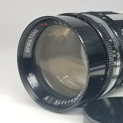 Spiratone 105mm f2.5 TC preset lens M42 mount. Made by Sankor in Japan