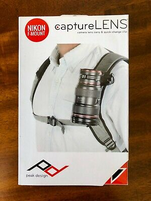 Peak Design Capture Lens Kit Nikon F-Mount NIB