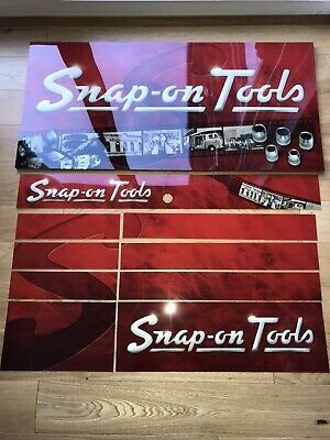 Snap on tool box decals - Retro