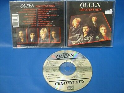 CD ALBUM QUEEN GREATEST HITS Auction 524
