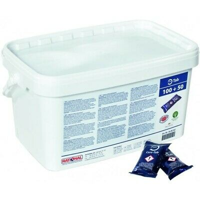 TUB OF 150 x 56.00.562 RATIONAL COMBI OVEN CARE CONTROL CHEMICAL CLEANING TABLET
