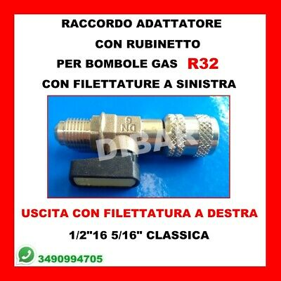 Reducer Fitting with Faucet for oz by Gas R32 Wigam 05002034001 4