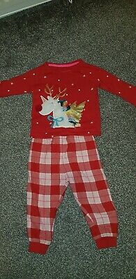 **marks and Spencer Christmas Pyjamas Size 12-18 Mths**