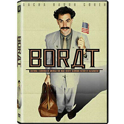 Borat Sacha Baron Cohen NEW & SEALED Region 2 Movie Night (DVD, 2007)