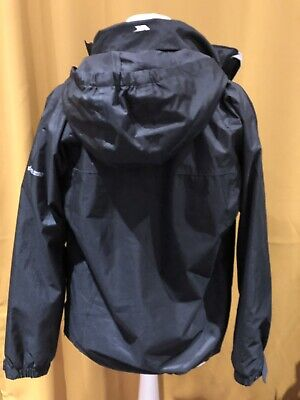 TRESPASS Hooded Jacket ~ Aged 11-12 ~ Waterproof (taped seams) ~ Windproof