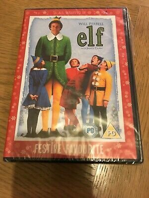Elf (DVD) 2 disc edition Christmas Classic - New - Free Uk Postage