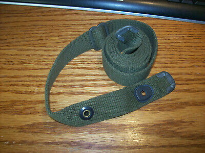 B.m.co. Wwii 1945 M1 Carbine Original Sling Green Cotton Near Un-Issued