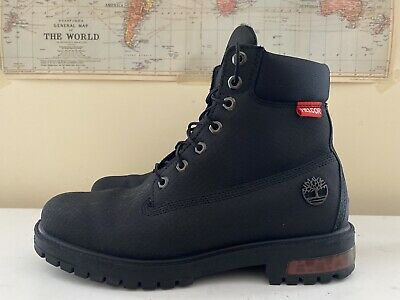 Genuine Timberland 6 Inch Classic Mens Helcor Waterproof Boots - Black Size 8.5