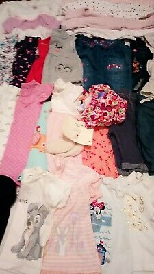Large Bundle of Baby Girls Clothes & Age 0-3 Months