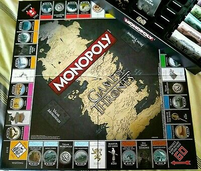 Monopoly (Game of Thrones Edition) Official Licensed Product