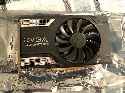 EVGA NVIDIA Geforce GTX 1060 6GB GDDR5 [Superclocked] Graphics Card