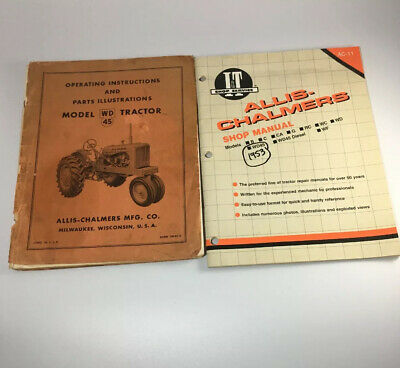 """New ALLIS CHALMERS Model WD45 Tractor Thermometer 10/"""" Round Years 1953-1957"""