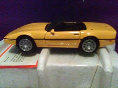 Franklin Mint 1986 Corvette Convertible 1/24 Scale w/BOX & DOCS