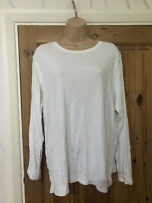 Marks&spencer Women's Ladies Cotton Top Size Uk 24