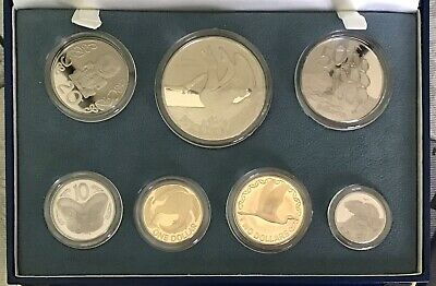 New Zealand - 1998 - Annual Proof Coin Set - Albatross